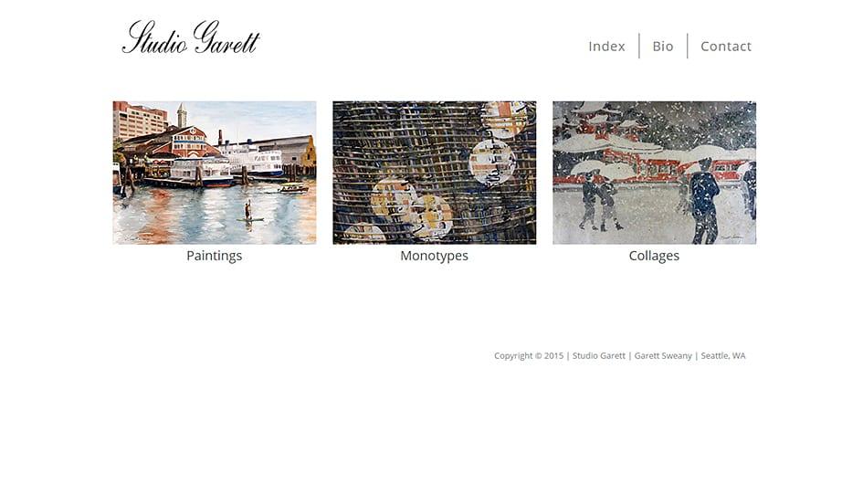artist-website-design-example