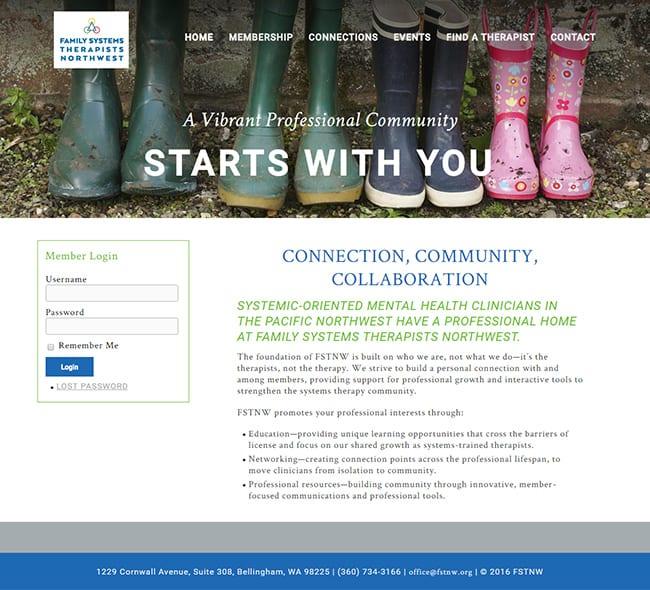 FSTNW - WordPress Website