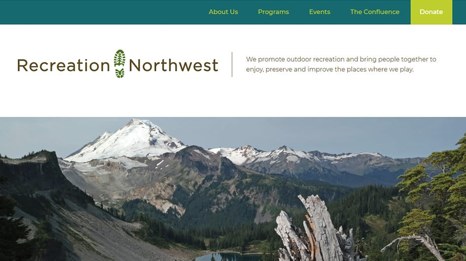 Wordpress-Web-Developer-site-example-Recreation-Northwest